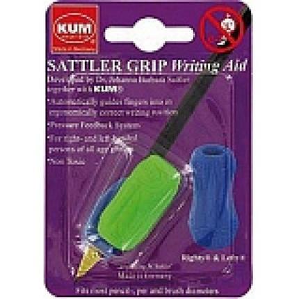 Утримувач KUM 406.00.22 ергоном. д/олівця Sattler Grip для шульги та правші блістер (1), фото 2