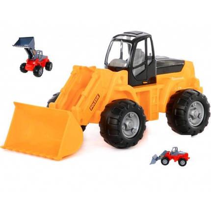 Трактор-навантажувач ( у сіточці) 48 5х21 5х22 5см ТМ POLESIE, фото 2