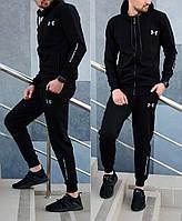 Мужской спортивный костюм Under Amour (Андр Амур) черный