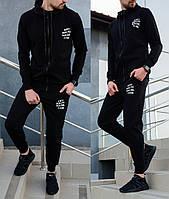 Мужской спортивный костюм Anti Social Social Club (Анти Социал Клаб) черный XXL