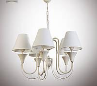 Люстра для зала, спальни, прихожей, 5-ти ламповая 14405-1