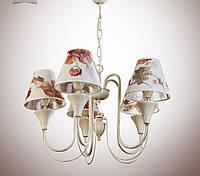 Люстра для зала, спальни, прихожей, 5-ти ламповая 14405-2