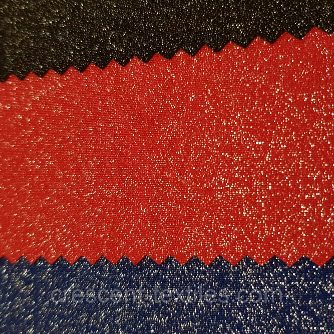Креп-Костюмка Люрексам (Красный)