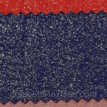 Креп-Костюмка Люрексам (Синий), фото 2