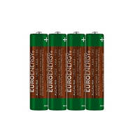 Батарейка SUPER ALKALINE; размер AAA (LR03); напряж.:1.5В; цил. формы (1 шт. из термоусад.пленки) (LR03-SP4)