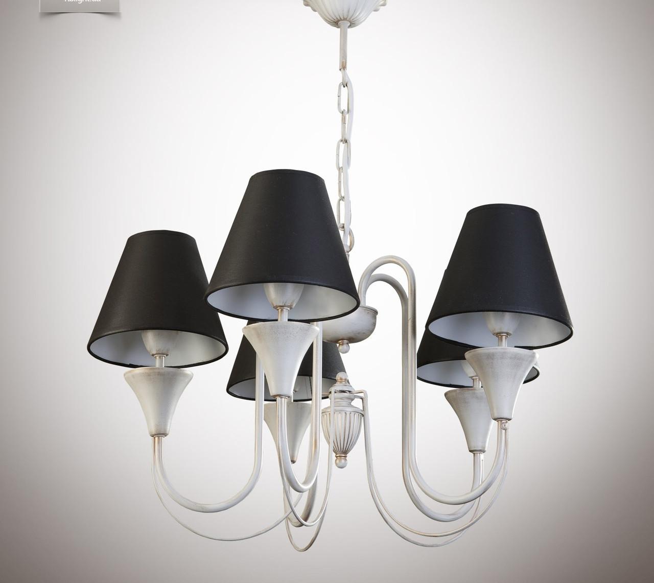 Люстра для зала, спальни, прихожей, 5-ти ламповая 14405-5