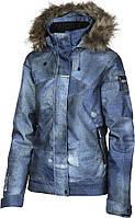 Куртка для сноубординга женская Rehall Jessie W 2018 blue denim used L