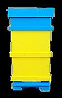 Улей на 10 рамок Дадан (2 корпуса + магазин) из экструдированного пенополистирола.