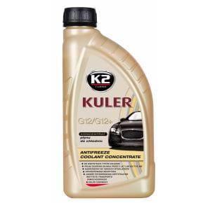 Тосол (антифриз) K2 KULER (концентрат -80)(красный) 1кг