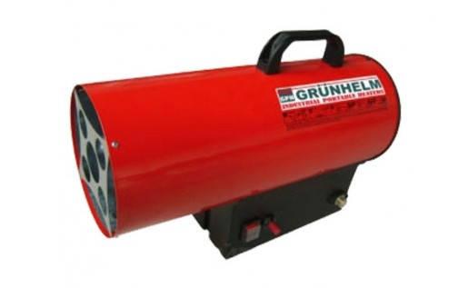Тепловая газовая пушка  Grunhelm GGH-15, фото 2