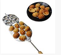 Форма для выпечки крупных орешков с рифленой поверхностью