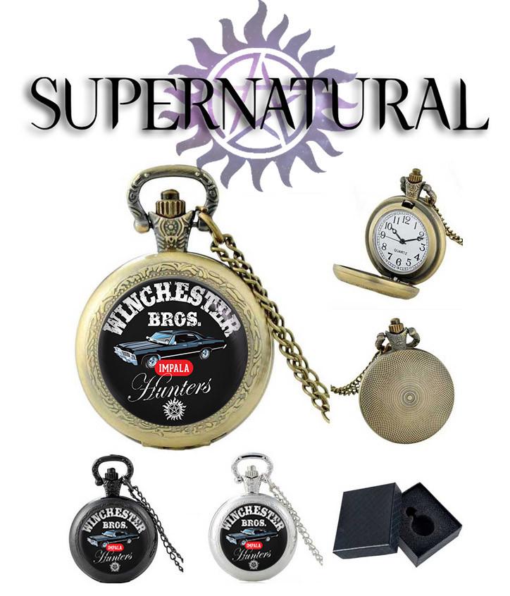 Карманные часы IMPALA Сверхъестественное / Supernatural