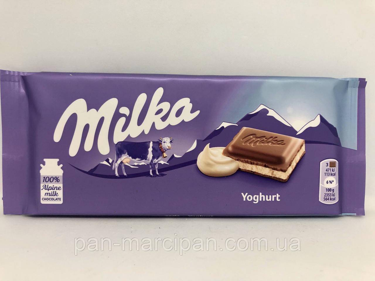 Шоколад Milka Joghurt 100г