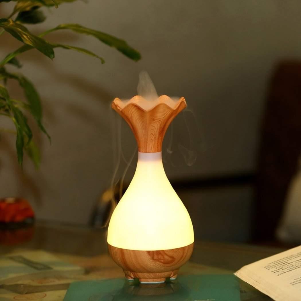 Арома-увлажнитель WooD Jade Bottle Светлое дерево