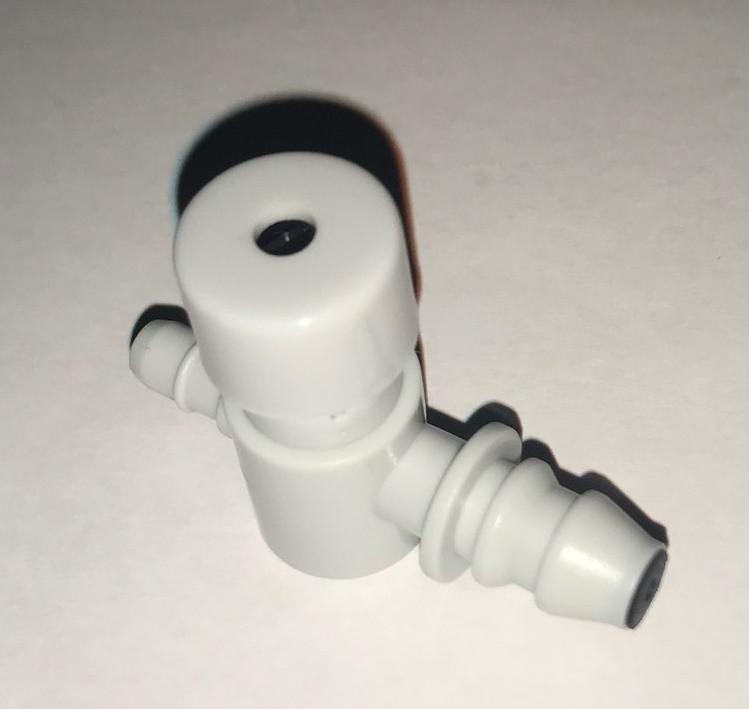 Клапан самоспускной регулирующийся на грушу для полуавтоматического тонометра, Microlife