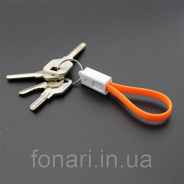 Качественный плоский micro-USB кабель от Soshine, 20см