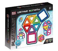 Игрушечный конструктор магнитный для детей и родителей Play Smart 2427 (30 деталей)
