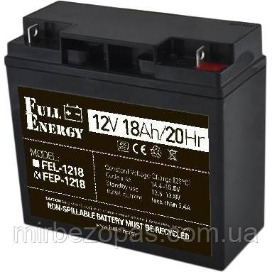Аккумулятор для ИБП Full Energy FEP-1218, фото 2
