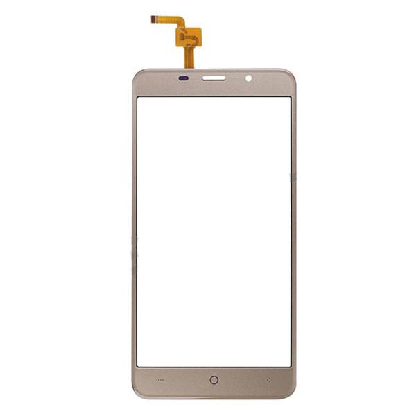 Сенсор (Touch screen) Bravis A504 Trace/  X500 Trace Pro/  Leagoo M5 золотой