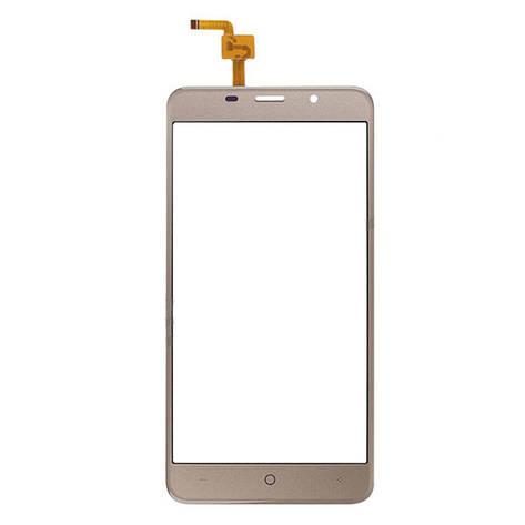 Сенсор (Touch screen) Bravis A504 Trace/  X500 Trace Pro/  Leagoo M5 золотой, фото 2