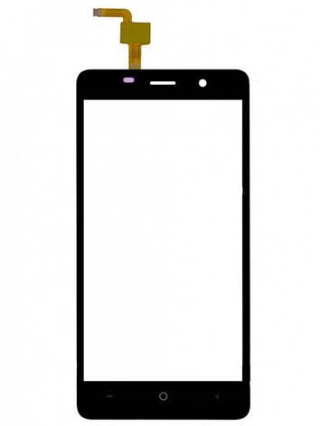 Сенсор (Touch screen) Bravis A504 Trace/  X500 Trace Pro/  Leagoo M5 чёрный, фото 2