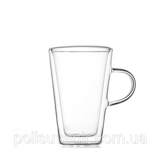 Чашка старбакс з подвійними стінками 450 мл