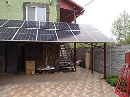Сетевая солнечная электростанция 33,39кВт г. ВасильковКиевская область 3