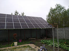 Сетевая солнечная электростанция 33,39кВт г. ВасильковКиевская область 5