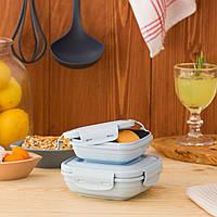 Пищевые контейнеры для хранения 2в1