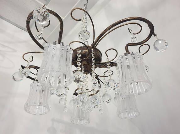 Светильник потолочный люстра ВЕРСАЛЬ - 5 плафон, фото 2