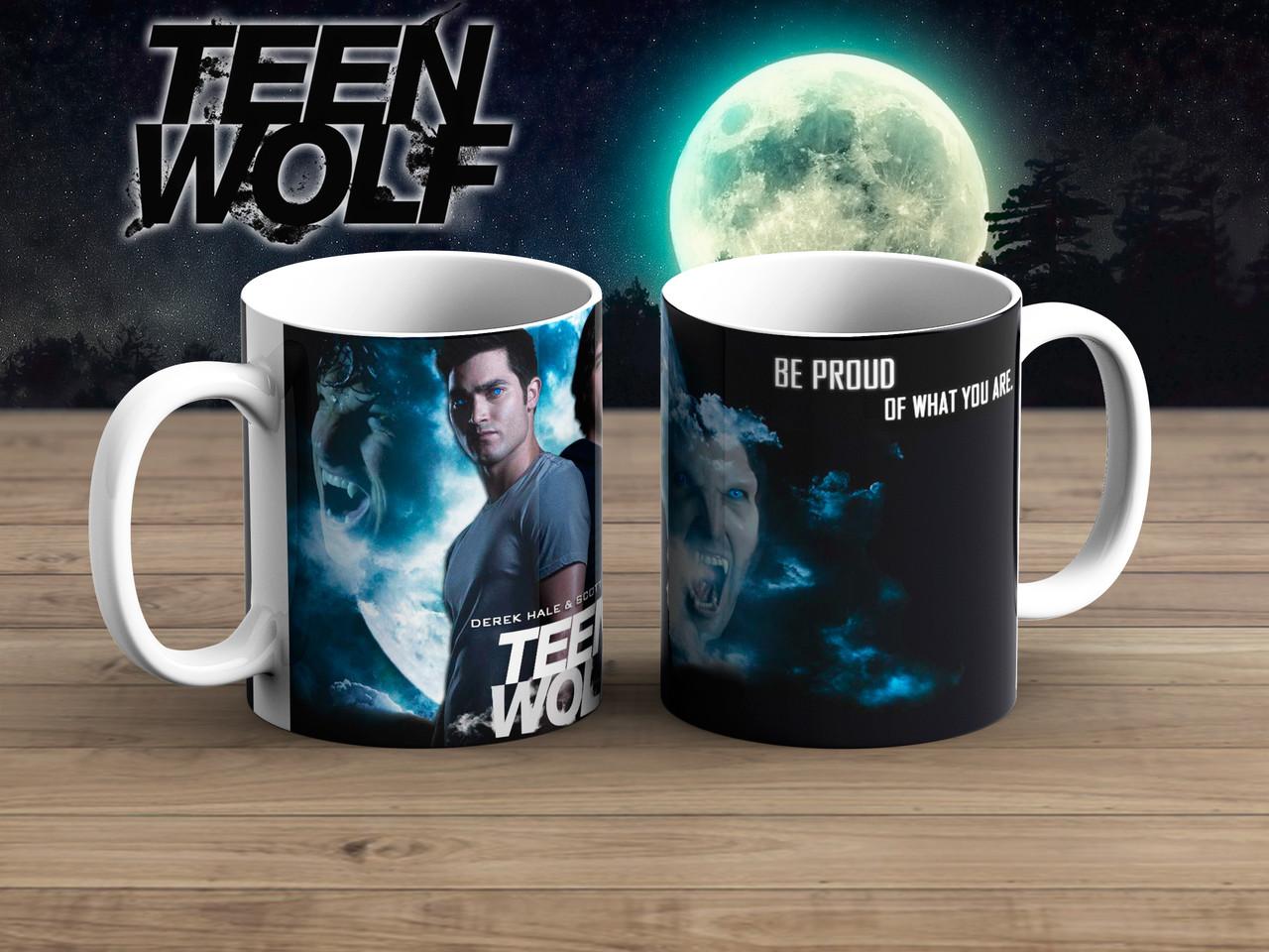 Чашка Схватка Волчонок / Teen Wolf
