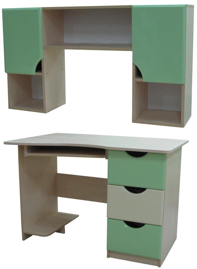 Письменный стол с надстройкой Арлекино