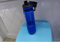 Пляшка спортивна з дозатором і ручкою 750 мл