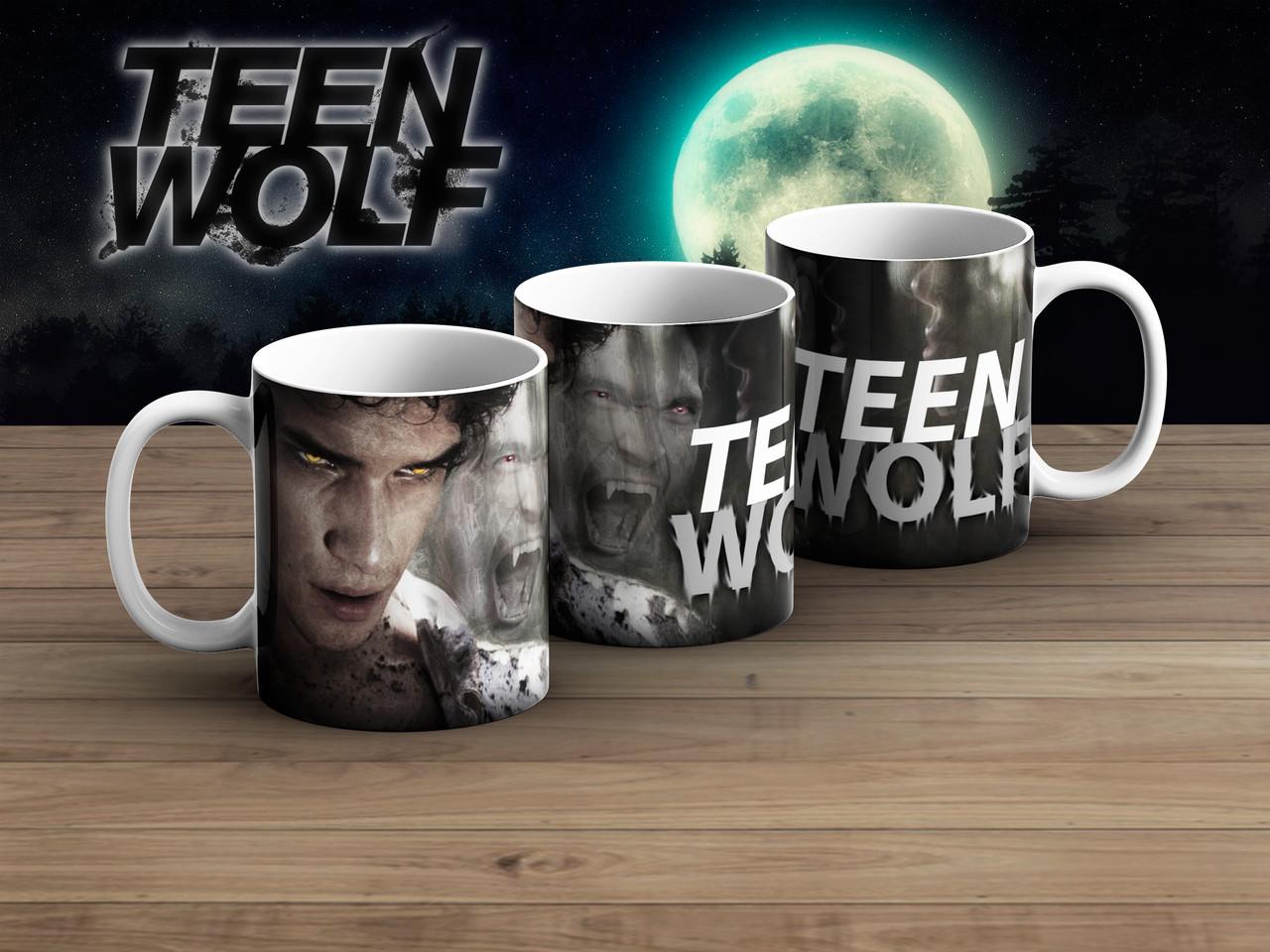 Чашка сила Волчонок / Teen Wolf