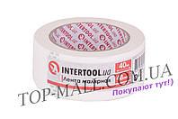 Лента малярная Intertool - 48 мм x 40 м, белая