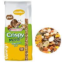 Корм Versele-Laga Crispy Muesli Hamster для хомяков, зерновая смесь, 20 кг