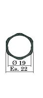 22х19 мм (B11) Регулировочная шайба форсунки Common Rail Bosch. 0,90-1,4 мм. h=0,01 мм.