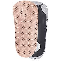 Кожаные полустельки-супинаторы для поддержки продольного и поперечного сводов стопы ШНС-001