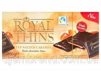 Chocolate Royal Thins солона карамель, 200 г
