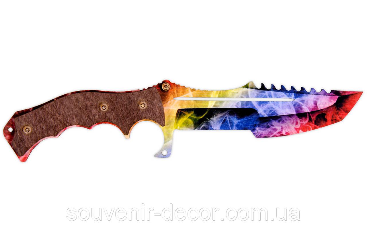 Нож Охотничий (Marble fade) из CS GO