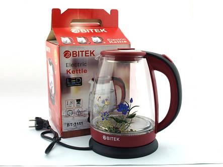 Электрочайник BITEK BT-3111 1.8л, фото 2
