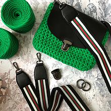 Бесплатный мастер класс по вязанию крючком сумки кросс боди  клатча из трикотажной пряжи