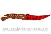 Нож раскладной FLIP (Crimson web) из CS GO