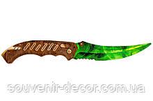 Нож раскладной FLIP (Emerald green) из CS GO