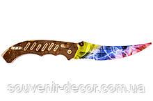 Нож раскладной FLIP (Marble Fade) из CS GO