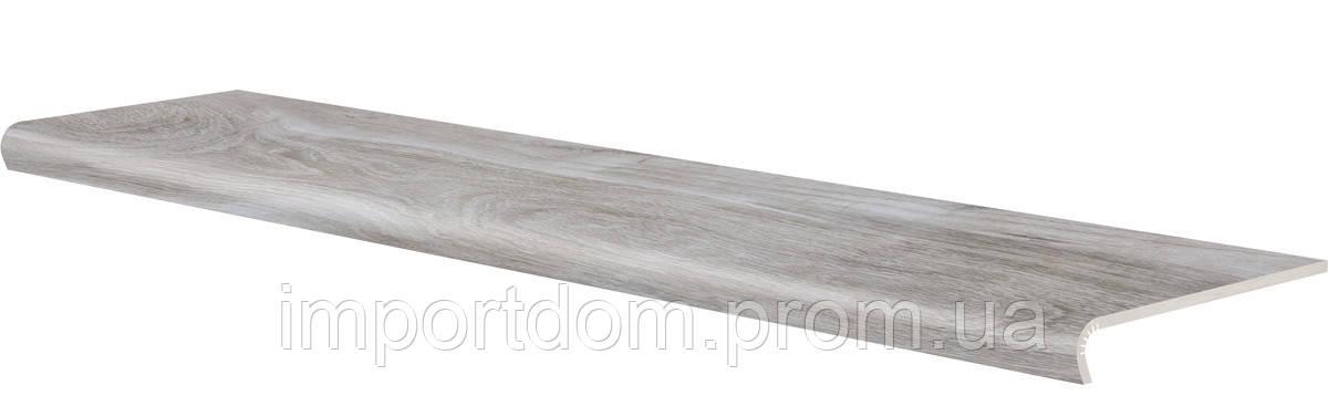 Плитка для пола Cerrad V-Shape Mattina Bianco 1202x320 Ступень