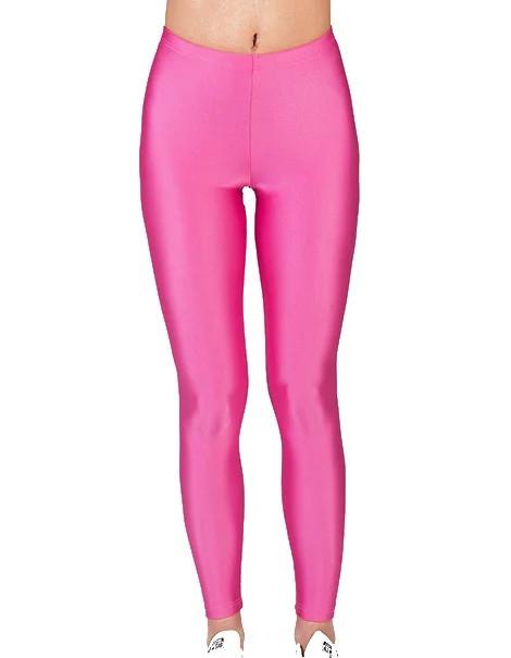 Детские лосины для девочек для танцев и гимнастики Розовый бифлекс Рост от 98 до 155 см