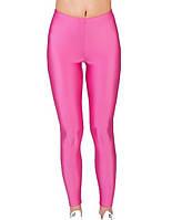 Детские лосины для девочек для танцев и гимнастики Розовый бифлекс