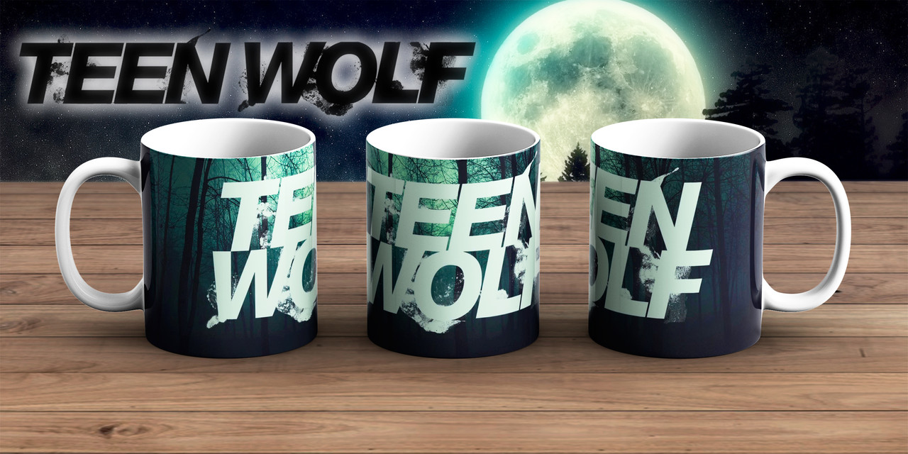Чашка лес Волчонок / Teen Wolf