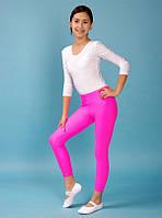 Детские лосины для танцев и гимнастики Малиновый бифлекс размер только 145-155 см